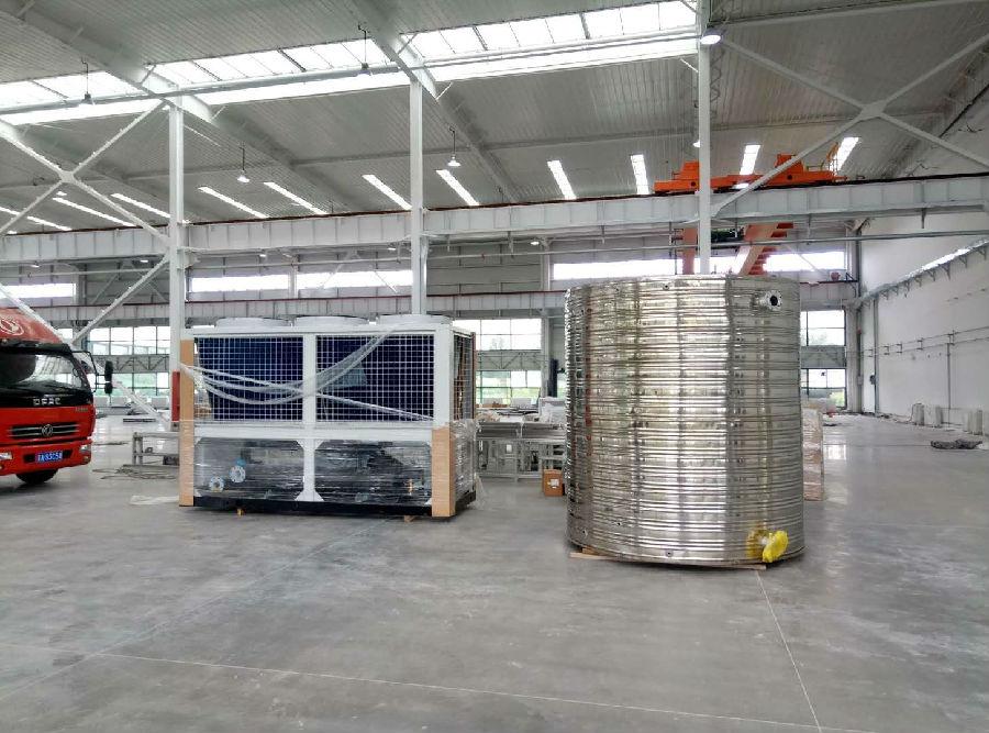 风冷螺杆冷水机验收 公司资讯-辽宁海安鑫机械设备有限公司